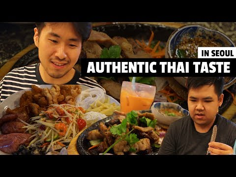 LEGIT Thai restaurant in Seoul!! (태국인도 인정하는 한국의 태국식당 탐방기!)