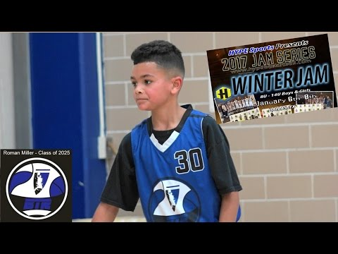 "Roman Miller - BTR - 4th Grade - ""Winter Jam"" at HYPE Sports - Dallas,TX - 2017 - Class of 2025"