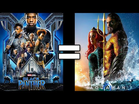 24 Reasons Black Panther & Aquaman Are The Same Movie