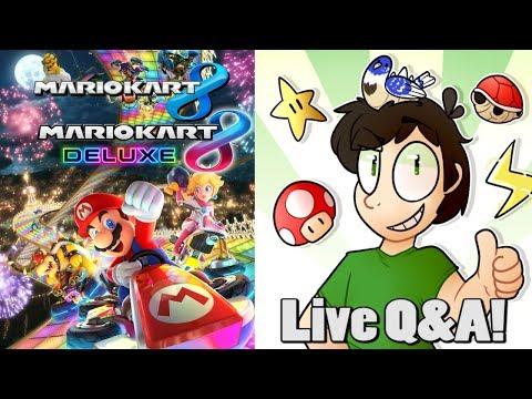Mario Kart 8 Wii U (Saturday Stream Part 1/2)