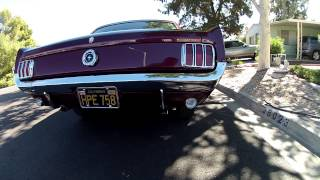 65 Mustang C-Code 289 3 speed walk around
