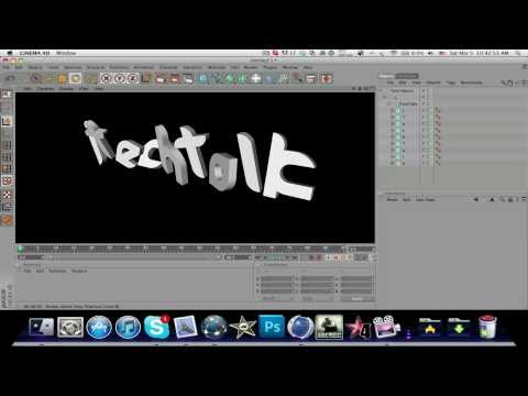 Cinema 4D: Position individual lettering in a MoText