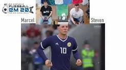 Virtuelle Fußball-EM, Gruppe D: Schottland - England
