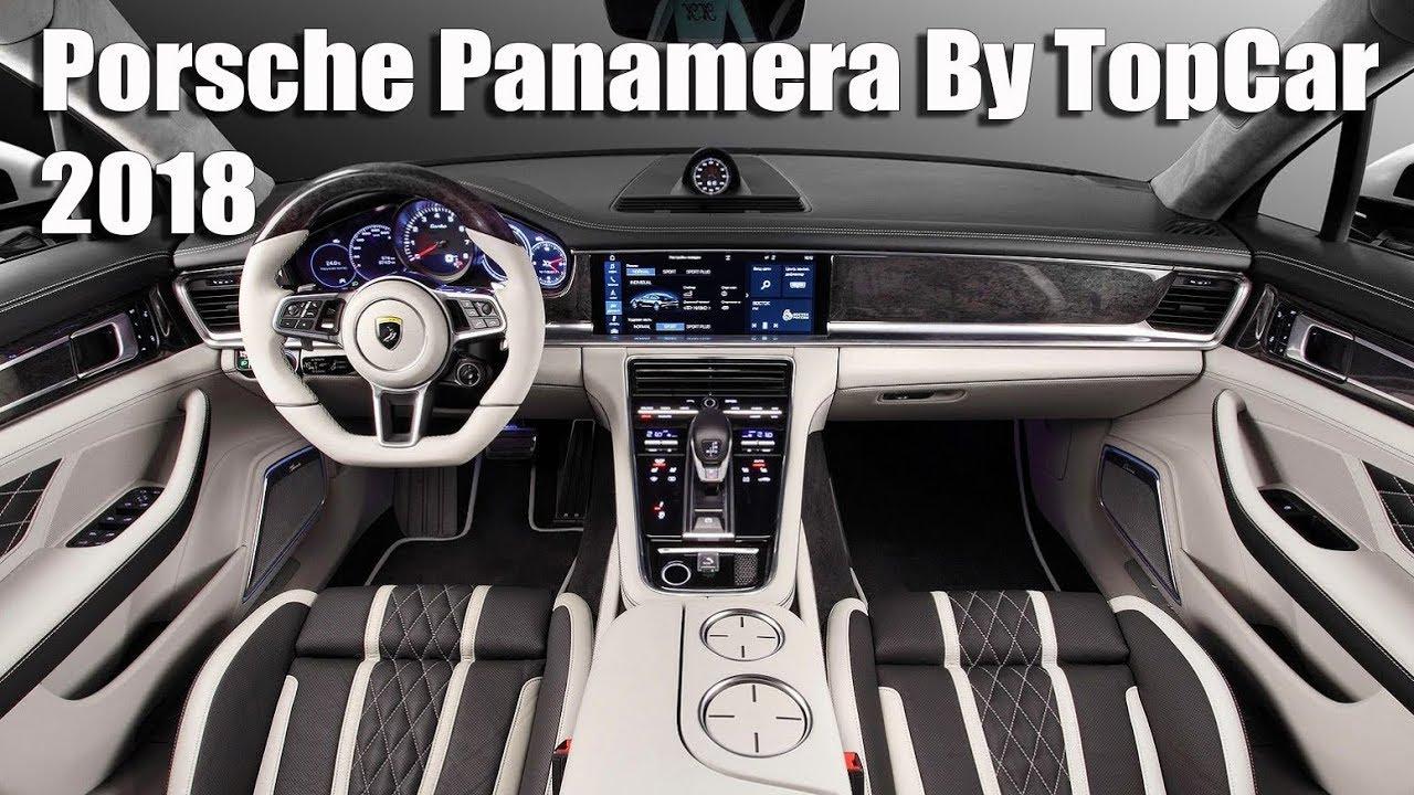 2018 porsche panamera interior. wonderful panamera allnew 2018 porsche panamera interior tuning by topcar on porsche panamera interior