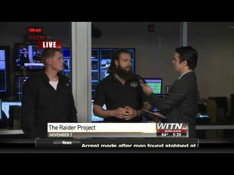 WITN News Guest Interview - The Raider Project