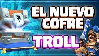 FINAL INESPERADO CON EL NUEVO COFRE TROLL | Clash Royale