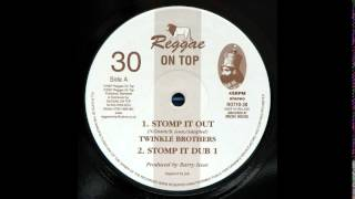 "10"" Twinkle Brothers/Reggae On Top All Stars - Stomp It Out/Dub 1"
