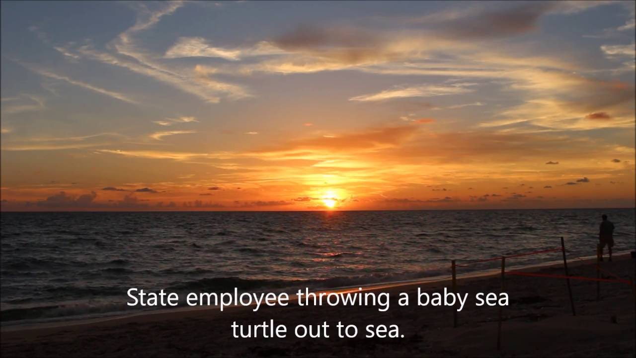 Sunset at Stump Pass Englewood FL - YouTube