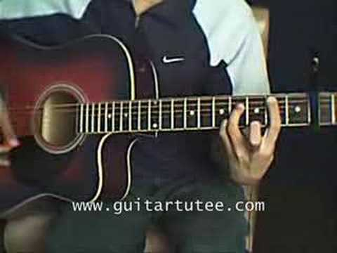 Give Me One Reason Of Tracy Chapman By Guitartutee Youtube