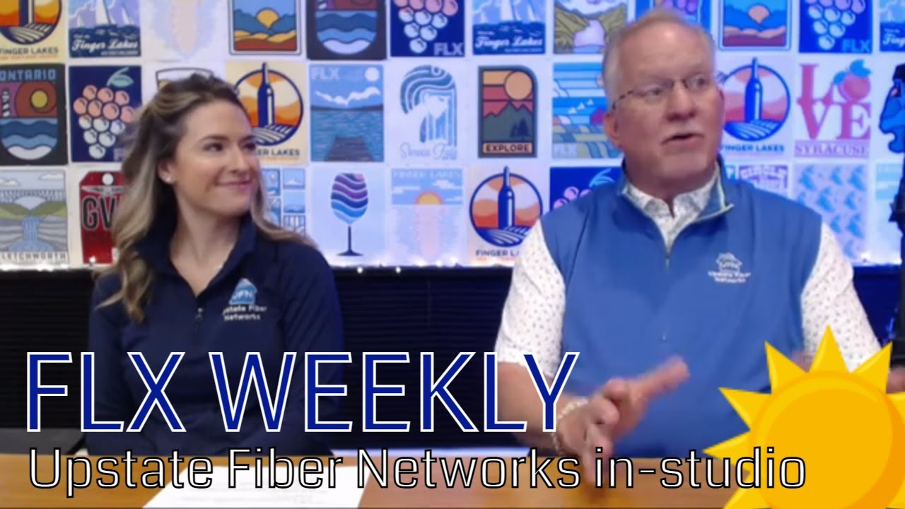 FLX WEEKLY: Upstate Fiber Networks team in-studio (podcast)