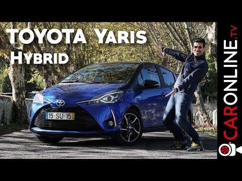 O TOYOTA YARIS também já é HIBRIDO? [Review Portugal]