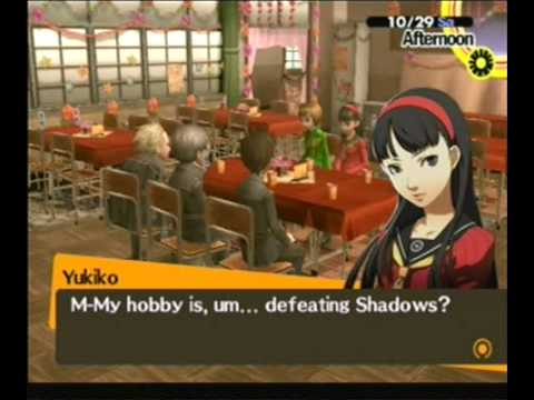 dating options persona 4