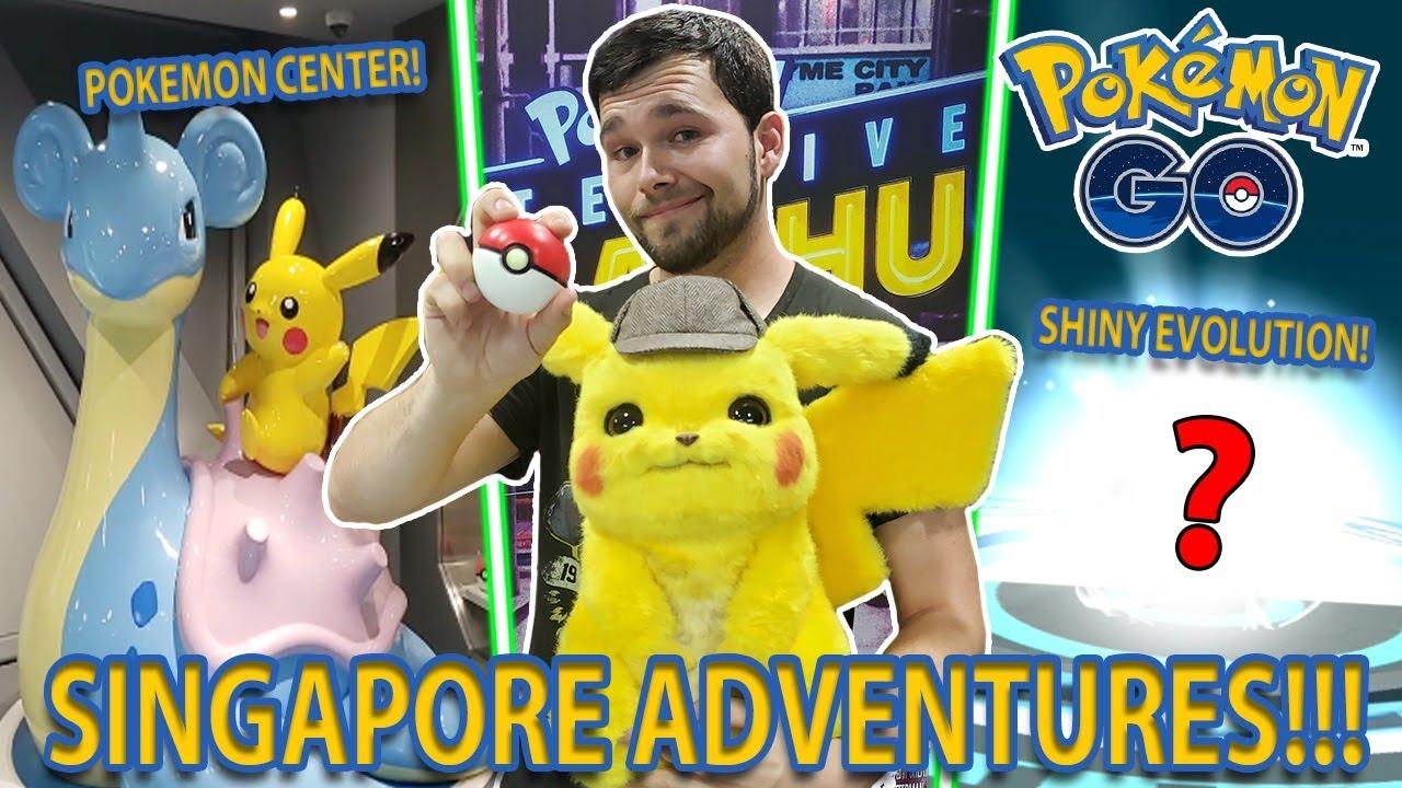 Singapore Pokemon Center Grand Opening Detective Pikachu And