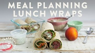 MEAL PLANNING 3 LUNCH WRAPS - Honeysuckle