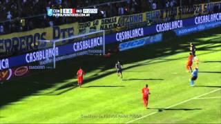 Papa despejó en la línea. Central 0 - Independiente 0. Fecha 15. Primera División 2015. FPT