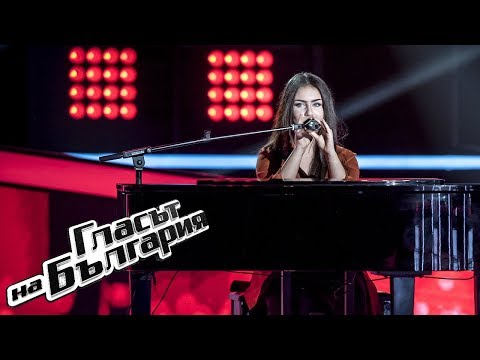 Nadezhda Aleksandrova - Wicked Game | Blind Auditions | The Voice of Bulgaria 2019