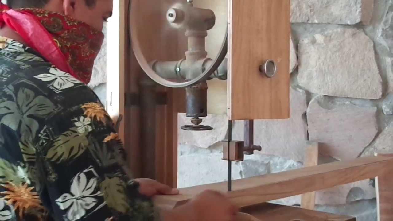 Sierra Cinta para corte de madera 100% casera 2 - Detalles y ...