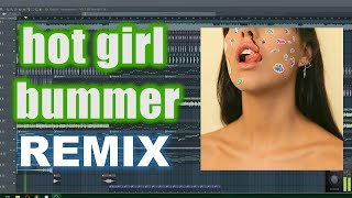 I remixed the Hot Girl Bummer song 😆🎵