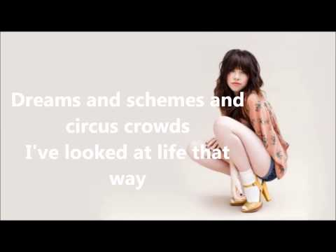 Both Sides Now - Carly Rae Jepsen (Lyrics Video)