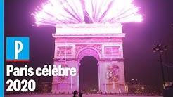 Nouvel An 2020 : revivez le feu d'artifice des Champs Elysées