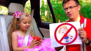 ダイアナとローマ、子供の日常生活のルールを学ぶ。