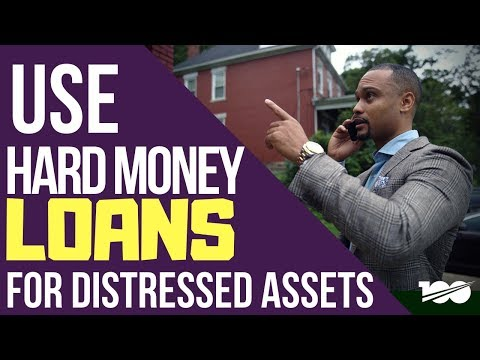 You should only use hard money loans for distressed assets