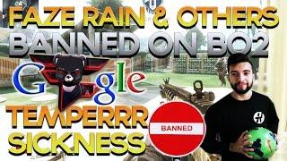 FaZe Rain & Other FaZe Members Banned, Temperrr Sickness, New COD DLC -  Red Scarce