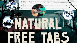 Natural - Imagine Dragons !!Free TABS!!  Fingerstyle Guitar Cover Video