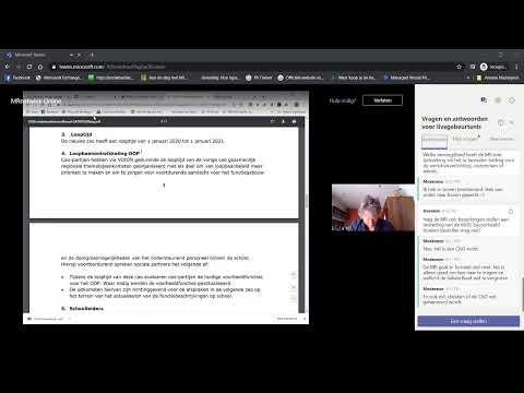 MRnetwerk online Onderhandelaarsakkoord cao VO, MR reglementen, MR in coronatijd