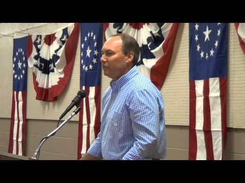Ohio Senator Bob Peterson at Fayette County Republican Fall Rally