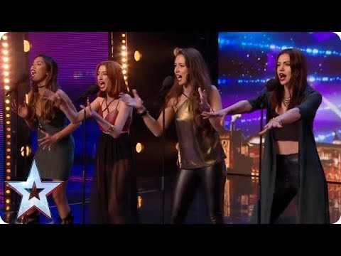 Icy Fire! Girl group puts new spin on Ed Sheeran classic | Britain's Got Talent Mp3