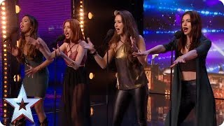 Icy Fire! Girl group puts new spin on Ed Sheeran classic | Britain's Got Talent