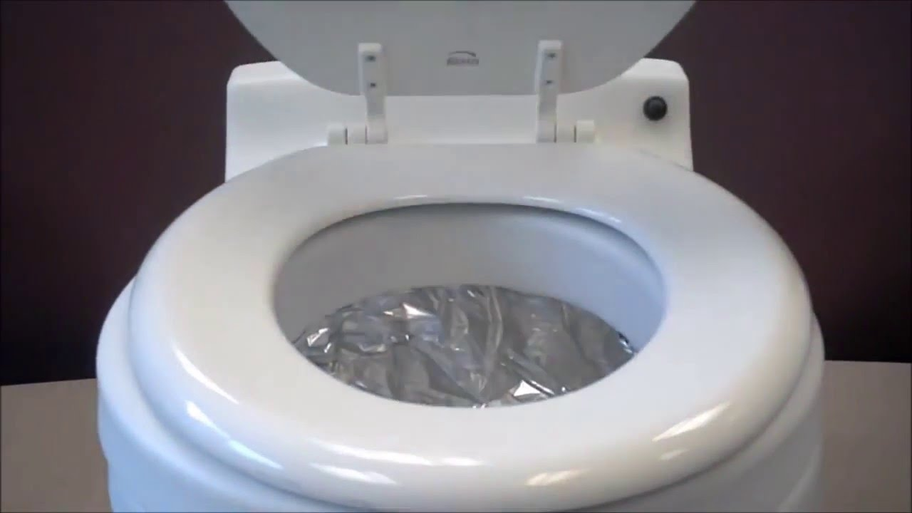 M And T Portable Toilets : Laveo by dry flush portable toilet youtube