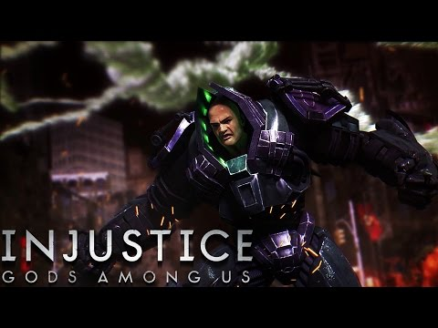 Injustice: Gods Among Us - Lex Luthor - Classic Battles On Very Hard (No Matches Lost)
