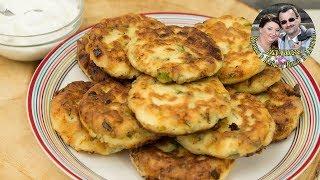 Обалденные соленые сырники из творога на ужин.