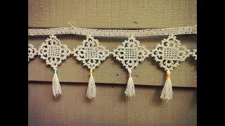 Tığişi Örgü Çeyizlik Havlu Kenarı Modelleri   Crochet