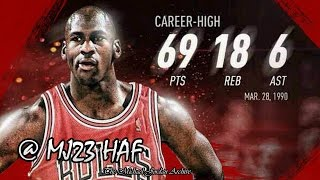 Download Michael Jordan Career High Highlights vs Cavaliers (1990.03.28) - 69pts! (HD 720p 60fps) Mp3 and Videos