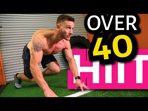 HIIT Tips for People Over 40- Burn More Fat in Less Time