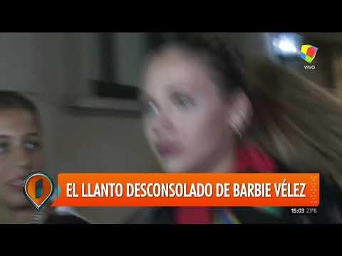 El llanto desconsolado de Barbie Vélez por la pelea Nazarena vs Fede