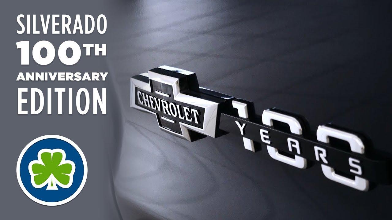 2018 Chevy Silverado 100th Anniversary Edition Youtube