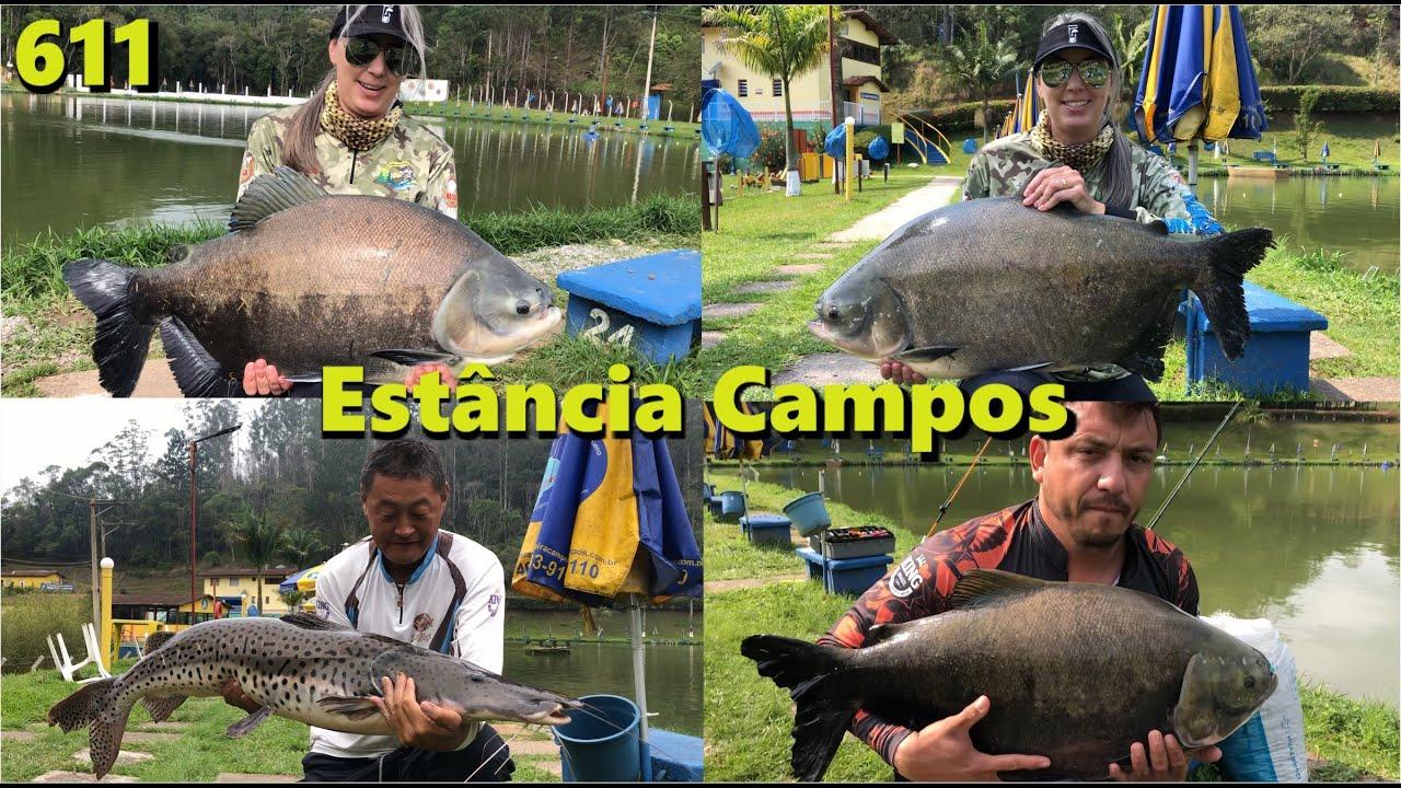Pescaria de inverno com muitos peixes na Estância Pesqueira Campos - Fishingtur 611 Pesca e Pescaria