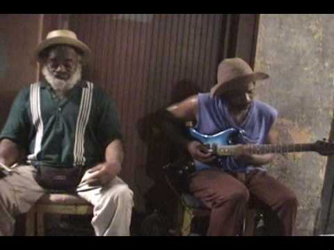Grandpa Elliott and Stony B. on BRING IT ON HOME TO ME/ BACKDOOR MAN Grandpa and Stony New Orleans