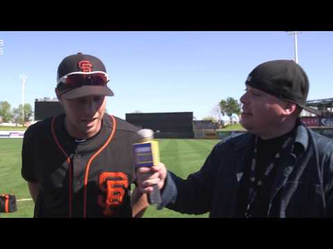 Giants OF prospect Austin Slater explains his newfound power at the plate