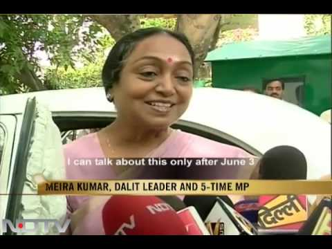 Meira Kumar nominated for the post of LS Speaker