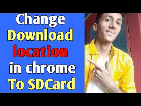 Change Download Location In Chrome To Sdcard | How To | Techno Vani