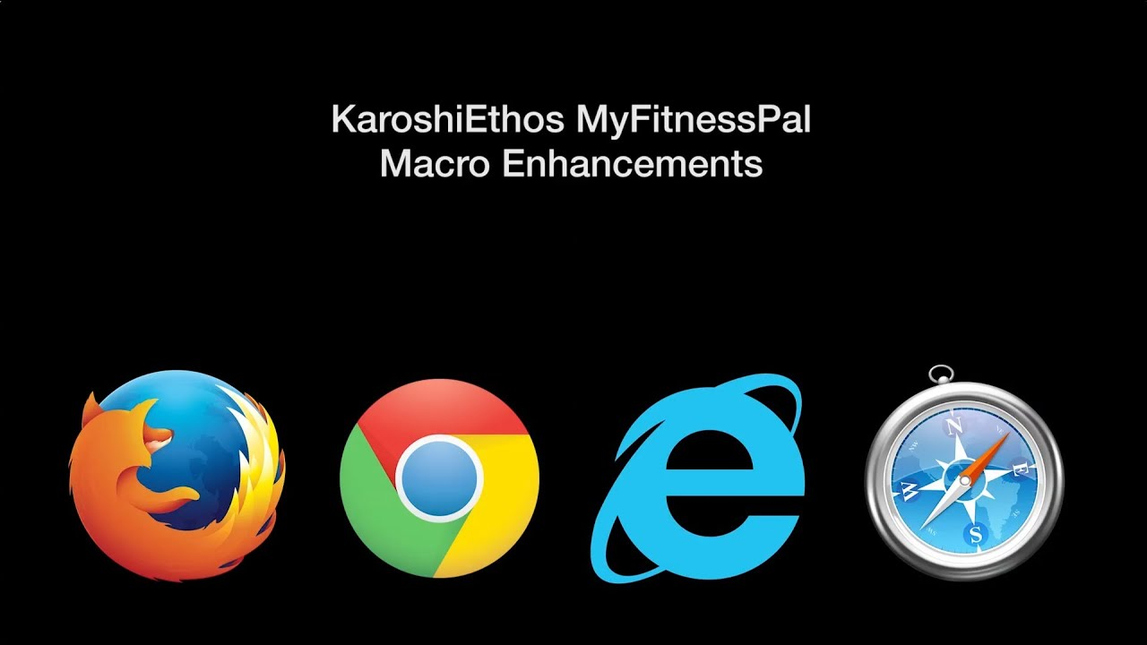 JavaScript Bookmarklet for Enhanced Macro Goals in MyFitnessPal
