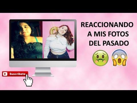 Reaccionando a mis fotos del pasado MUY DIVERTIDO!!- DANIELA COSIO