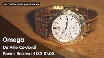 Bảo dưỡng đồng hồ Omega De Ville Co-Axial 4132.31.00 |Benhviendongho.com
