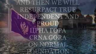 Independent Montenegro Chernogorian land truth of fake Montenegrin and true national Chernogorian
