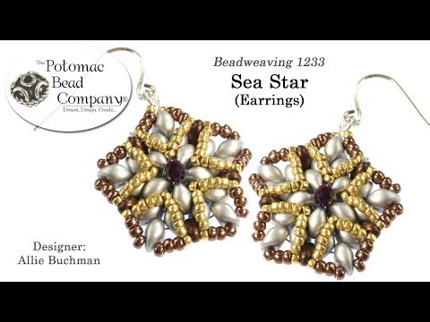 Sea Star Earrings (Component Jewelry Tutorial)